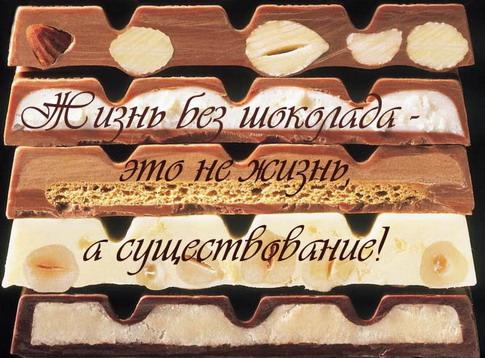 Цитата Шоколад
